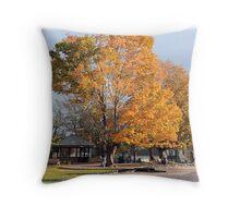 'October in Blowing Rock' Throw Pillow