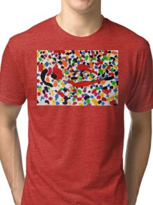 Series brush strokes No. 04/ 2014 Tri-blend T-Shirt