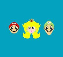 Mario minimal by aureliescour
