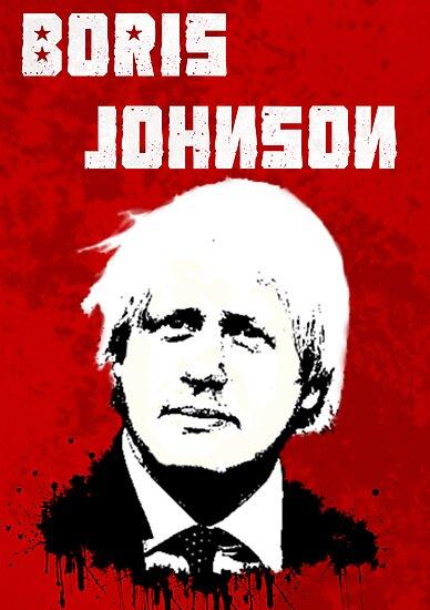 Boris Johnson / Che Guevara by Matthew James