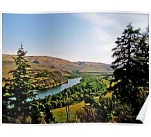 Snake River, Idaho Tradigital Oil Photo Poster