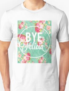 Bye Felicia Vintage Floral T-Shirt