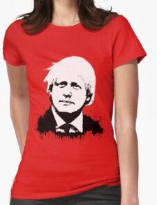 Boris Johnson / Che Guevara Womens Fitted T-Shirt