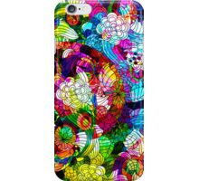 Colorful Vintage Romantic Floral Collage iPhone Case/Skin