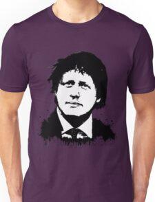 Boris Johnson / Che Guevara Black Hair Unisex T-Shirt