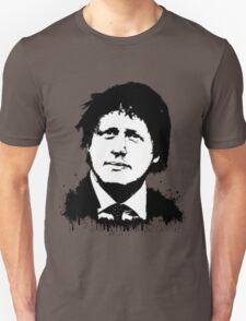Boris Johnson / Che Guevara Black Hair T-Shirt