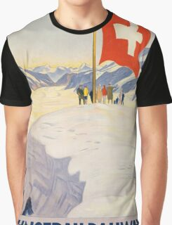 Vintage poster - Switzerland Graphic T-Shirt