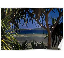 A view of Port Vila Harbour Poster