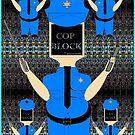 Cop Block org iPhone cover by Joseph Steadman