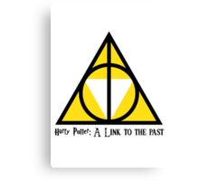 Harry Potter: A Link to the past  Canvas Print