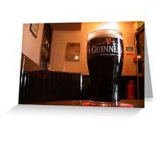 One of the Oldest Pub in Ireland  Greeting Card