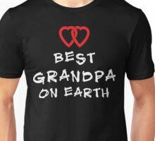 "Grandpa ""Best Grandpa on Earth"" Unisex T-Shirt"
