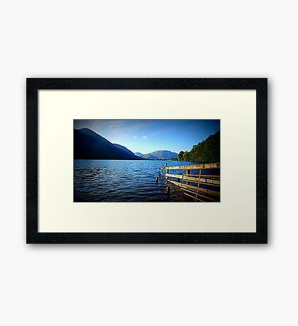 Buttermere, Lake District National Park. Framed Print