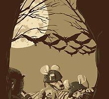 Woodland Wars by sergio37