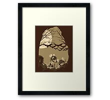 Woodland Wars Framed Print