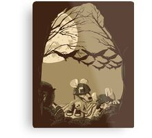 Woodland Wars Metal Print