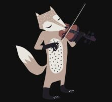 FOXY VIOLINIST Kids Clothes
