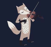 FOXY VIOLINIST One Piece - Long Sleeve