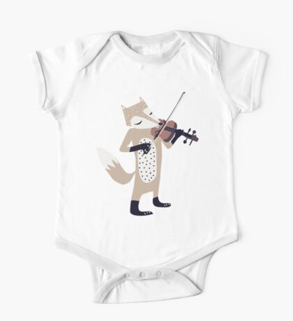 FOXY VIOLINIST One Piece - Short Sleeve