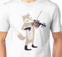 FOXY VIOLINIST Unisex T-Shirt