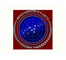 United Federation of Planets Art Print