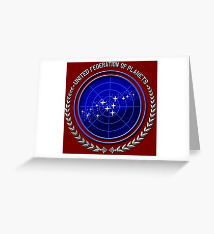 United Federation of Planets Greeting Card