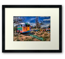 """What Do You Get When ... you cross """"The Magic Schoolbus"""" with """"Reading Rainbow"""" Framed Print"""