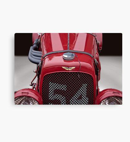 1938 Aston Martin Vintage Racecar Canvas Print