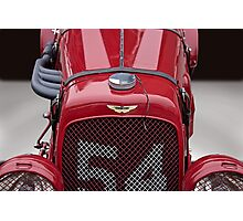 1938 Aston Martin Vintage Racecar Photographic Print