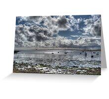 Lindisfarne View #1 Greeting Card
