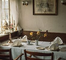Luncheon table Roskilde 196104140099  by Fred Mitchell