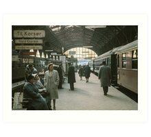 Copenhagen Railway Station  196104150109  Art Print