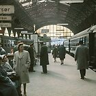Copenhagen Railway Station  196104150109  by Fred Mitchell