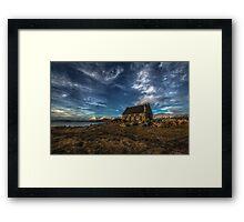 Lake Tekapo Church Framed Print