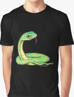 Snake is Unimpressed Graphic T-Shirt