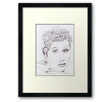 I Love Lucille Ball Framed Print