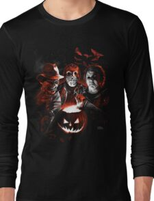 Super Villains Halloween Long Sleeve T-Shirt