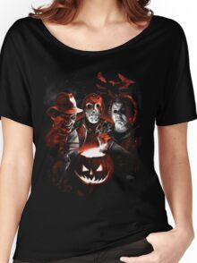 Super Villains Halloween Women's Relaxed Fit T-Shirt