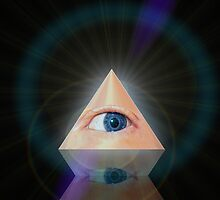 ALL SEEING EYE-PHONE by Marvin Hayes