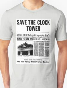 BTTF SAVE THE CLOCK TOWER T-Shirt