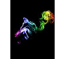 Colorful Smoke Photographic Print