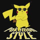 Gangnam Style Pikachu by uncivilmouse