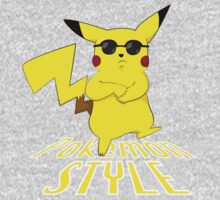 Gangnam Style Pikachu Kids Clothes