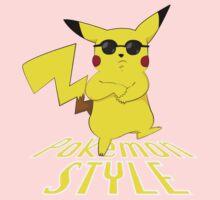 Gangnam Style Pikachu Kids Clothes