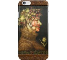Vegetable face iPhone Case/Skin