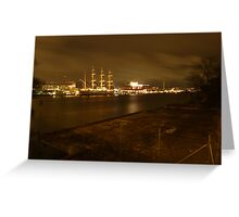 Gothenburg By Night Greeting Card