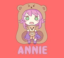 Chibi Annie League of Legends by LexyLady