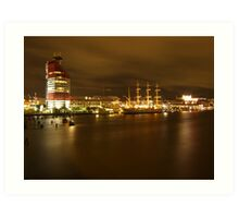 Gothenburg By Night Art Print