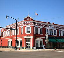 Route 66 - Sayre, Oklahoma by Frank Romeo
