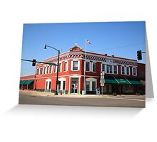 Route 66 - Sayre, Oklahoma Greeting Card